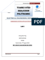 embedded system report 1(assembly language)