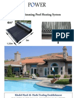 Maual Solar Swimming Pool HEating