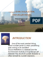Nuclear Disaster Menegement