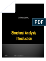 Introduction to Structural Analysis for Architecture Students