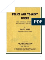 Police and G-Man Tricks - Lord