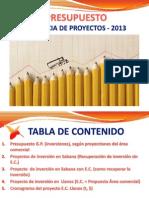Presupuestos Gerencia Proyectos