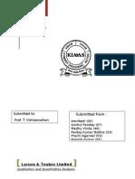 Group-2 Report on L&T-Quantitative & Qualitative Analysis