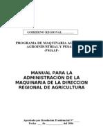 Manual Administracion Maquinaria Agrícola