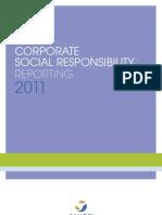 SANOFI CORPORATE SOCIAL RESPONSIBILITY REPORTING 2011
