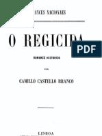 O Regicida, romance histórico, de Camilo Castelo Branco