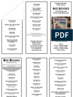 Big Books Brochure 2010