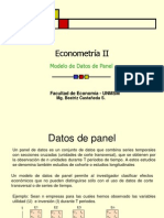 Datos de Panel