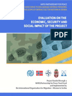 NATO Partnership for PeaceTrust Fund - Evaluation on the economic, security and social impact of the project