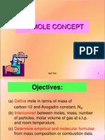 1. Mole Concept