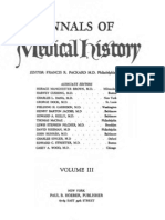 Annals of Medical History III Reduced Size