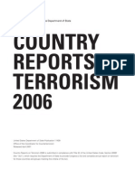 Country Reports Terrorism 2006