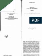 Manuel d'arabe moderne, volume 2, LW Deheuvels (1999)