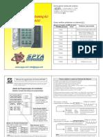 manual de programação xp400