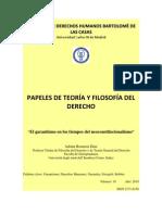 El garantismo en los tiempos del neoconstitucionalismo (Adrián Rentería Díaz)