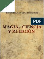 Malinowsky, Bronislaw - Magia, Ciencia y Religión