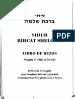 Sidur Bircat Shelomo - Libro de Rezos