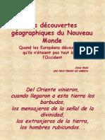 Los descubrimientos geográficos a través de los mapas