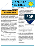 Santa Monica Op-Ed Press Jan 2013 Issue #1