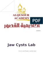 Jaw Cysts Lab
