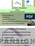 Through-Silicon Via Benchmarking Project (Chong Industrial Training)