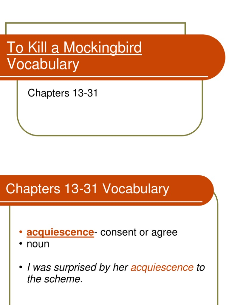 what happens in chapter 13 of to kill a mockingbird