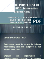 Overview of Islamic Accounting