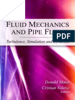 FLUID MECHANICS AND PIPE FLOW:
