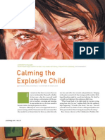 calming the explosive child