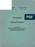 Herbert Dingle SWEDENBORG as a PHYSICAL SCIENTIST The Swedenborg Society London 1938