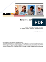 Employee Safety Handbook Example
