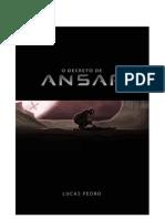 O Decreto de Ansar - Capitulo 1 - A Primeira Noite