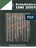 Esta Di Stica Uni 2001