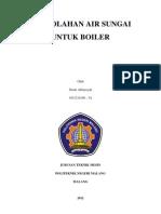 Pengolahan Air Untuk Boiler