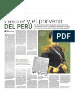 Castillas y el provenir del Peru