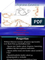 William Flexion Exercise