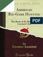 American BigGame Hunting - 9781440088230