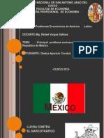 PRINCIPAL PROBLEMA DE LA REPUBLICA DE MEXICO.pptx