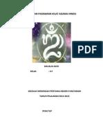 Laporan Pasraman Kilat Agama Hindu