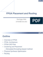 FPGA Placement & Routing Slides-CAD-Santiago