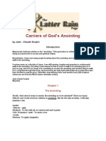 Carriers of God's Anointing