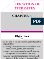 Classification of Vertebrates Chap 3(1)