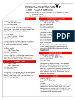 Summer Camp Registration.2013-Descriptions