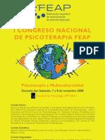 1er Congreso Nacional de Psicoterapia