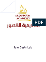 Jaw Cysts Lab.part1