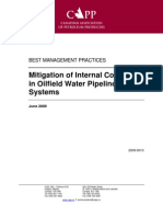 Mitigation of Internal Corrosion in Oilfield Water Pipelines