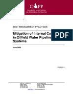Mitigation of Internal Corrosion in Oilfield Water Pipelines