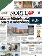 Periodico Norte de Ciudad Juárez 13 de Enero de 2013