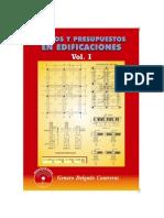 Costos y Presup en Edificaciones Vol 1