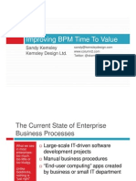 Improving Bpm Time to Value